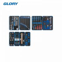 "Набор инструментов ""GLORY"" для тележки, 8 ложементов, 152 предмета KING TONY 9G35-152MRVD"