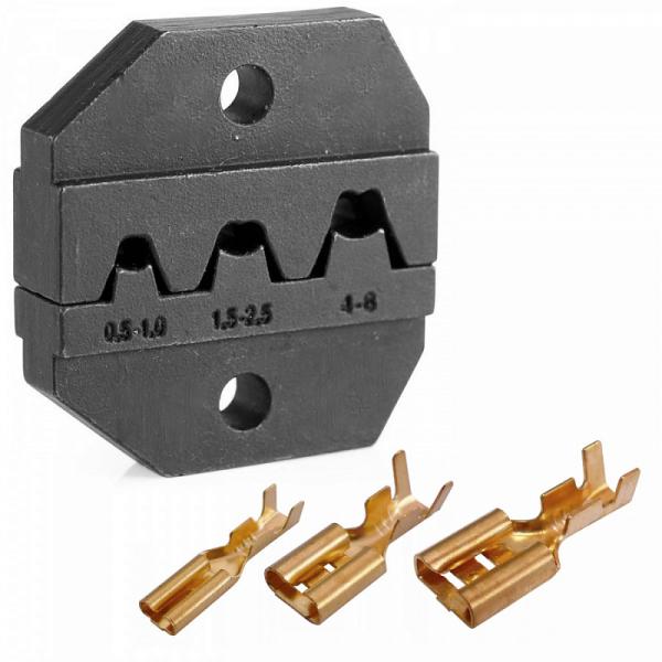 Модуль сменный для кримпера для обжима неизолированных замочных клемм KING TONY 67GKP01