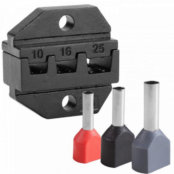 Модуль сменный для кримпера для обжима штыревых наконечников 6-16 мм KING TONY 67GJP01