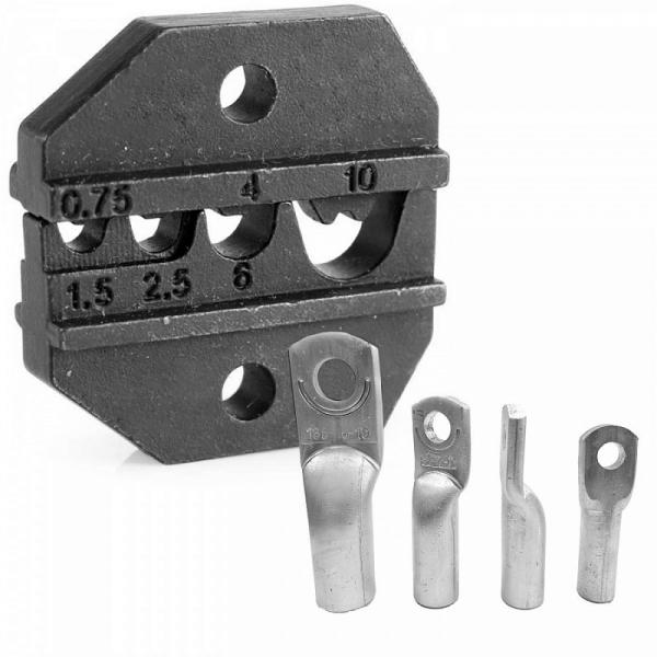 Модуль сменный для кримпера для обжима неизолированных клемм KING TONY 67GLP01