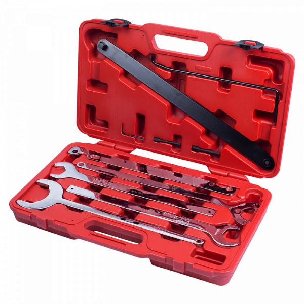 Набор ключей для термомуфт марок Mercedes / BMW / FORD, кейс, 10 предметов МАСТАК 103-50001C