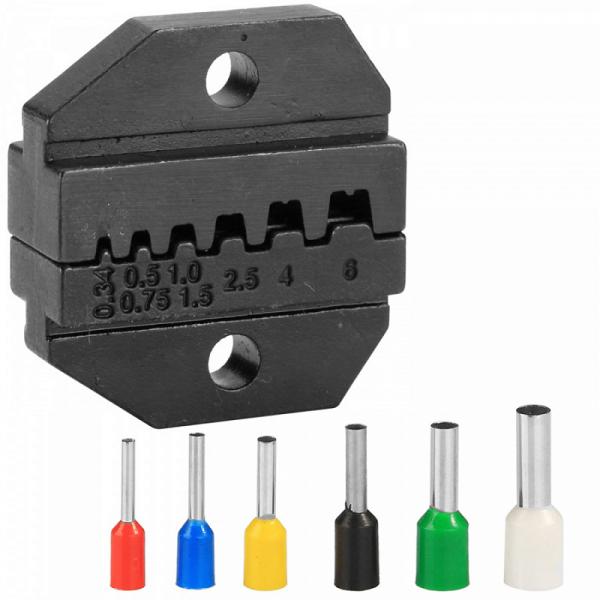 Модуль сменный для кримпера для обжима штыревых наконечников 0,5-4 мм KING TONY 67GNP01